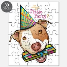 Pittie Party HUGE Puzzle