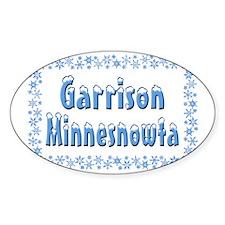 Garrison Minnesnowta Decal