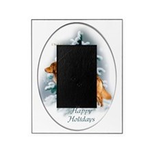 NS Duck Toller Christmas 7 Picture Frame