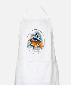 NS Duck Toller Christmas 7 Apron