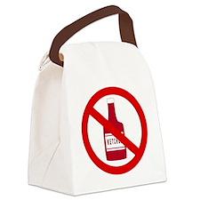 no_ketchup Canvas Lunch Bag