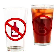 no_ketchup Drinking Glass