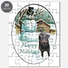 manchester terrier holiday 2 Puzzle