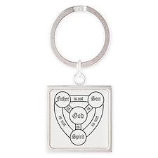 trinity Square Keychain