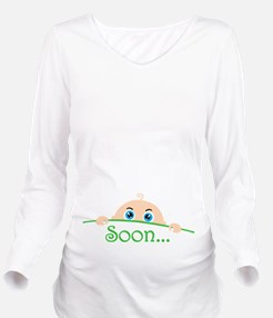 Soon Long Sleeve Maternity T-Shirt