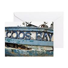Coos Bay Greeting Card
