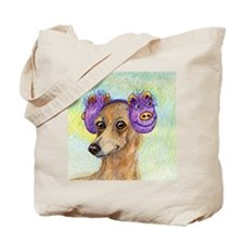 She loved these cold, crisp mornings Tote Bag