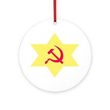 Hammer, Sickle, Star Ornament (Round)