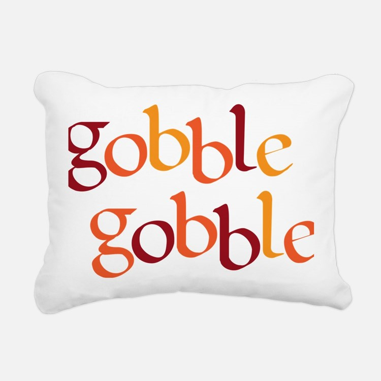 gobble gobble Rectangular Canvas Pillow