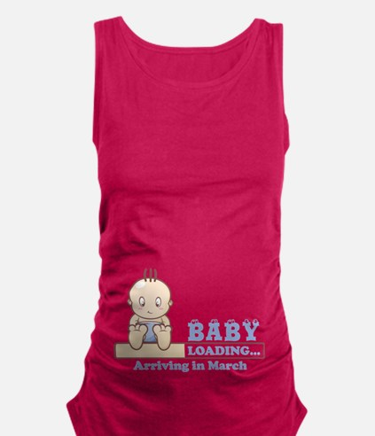 Arriving in March Maternity Tank Top