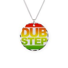 Dub Step RUN Style Necklace Circle Charm
