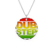 Dub Step RUN Style Necklace Circle Charm