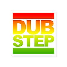 "Dub Step RUN Style Square Sticker 3"" x 3"""
