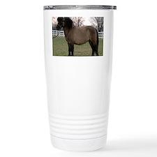 pony_Lg_framed Travel Mug