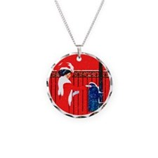 ! Christmas Coles Phillips Necklace