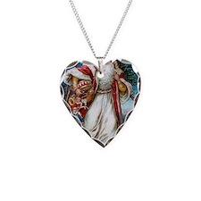 ! Santa 1 Necklace Heart Charm
