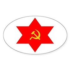 Hammer, Sickle, Star Oval Decal
