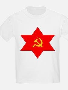 Hammer, Sickle, Star Kids T-Shirt