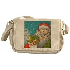 santa_notext Messenger Bag
