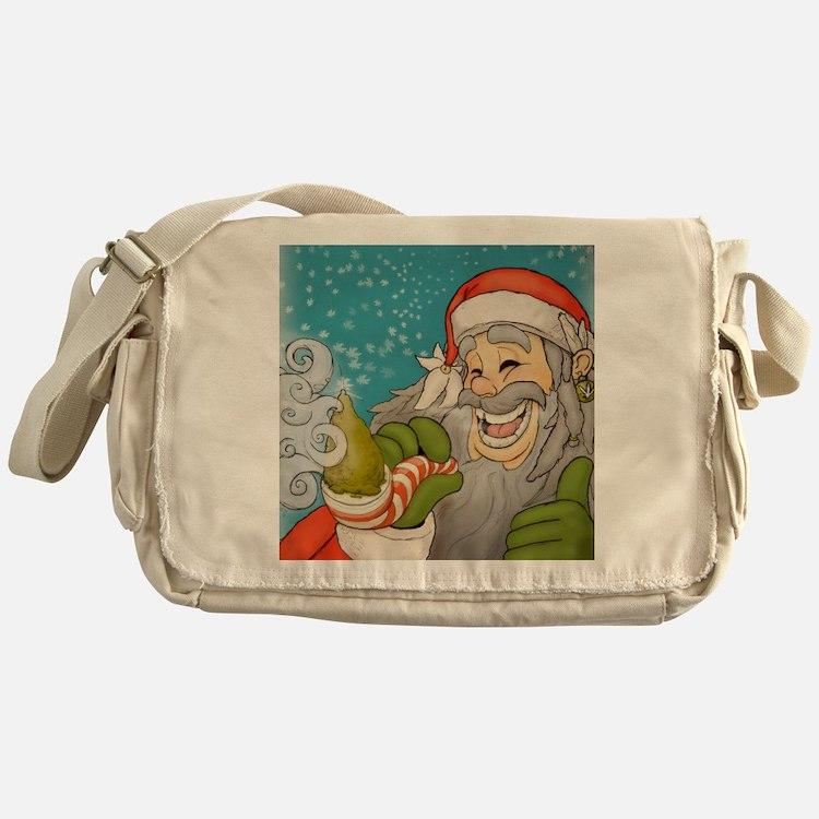 santa_notext Messenger Bag