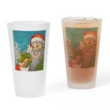 santa_notext Drinking Glass