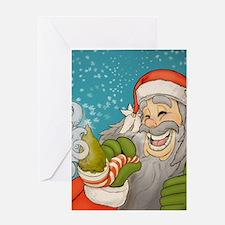 santa_notext Greeting Card