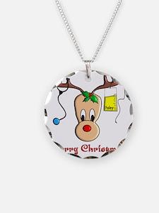 Nurse Reindeer Necklace