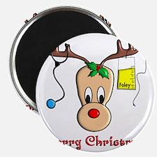 Nurse Reindeer Magnet