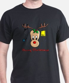 Nurse Reindeer T-Shirt