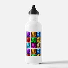 443_iphone_case-popart Water Bottle