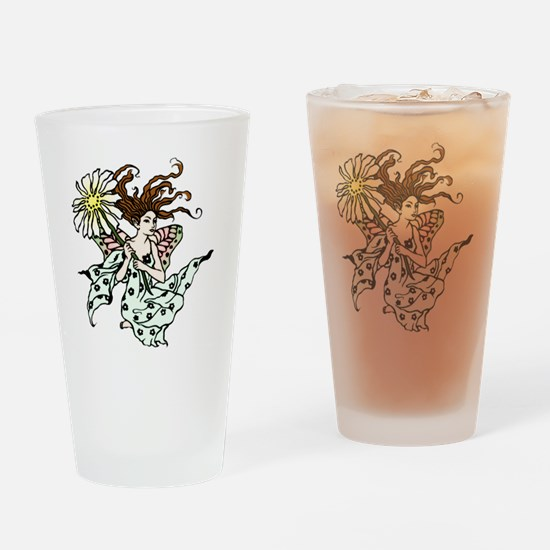 Windswept Fairy Drinking Glass