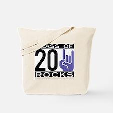 2011 purple/gold hand Tote Bag