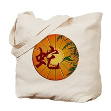 ZY Snake Clock Tote Bag