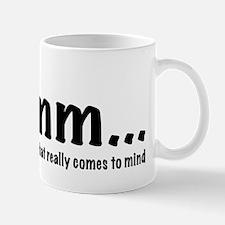 hmmm Mug