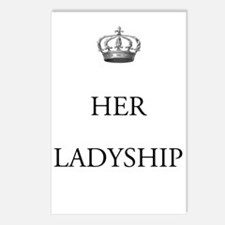 Her Ladyship Postcards (Package Of 8)