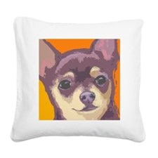 chihua large cafe Square Canvas Pillow