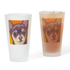 chihua large cafe Drinking Glass