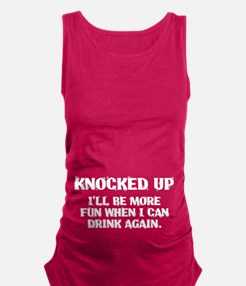 Knocked Up Maternity Tank Top