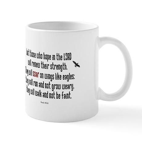 Isaiah 40:31 Soar Mug