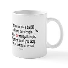Isaiah 40:31 Soar Small Mug