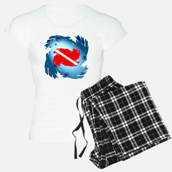 DIVE FLAG DF # 004 pajamas