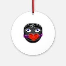gimp heart gag Round Ornament