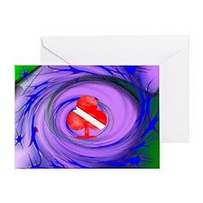 DIVE FLAG 29 Greeting Card