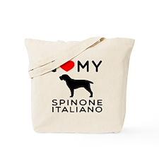 I love My Spinone Italiano Tote Bag