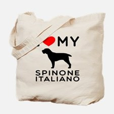 I love My Spinone Italiano Tote Bag