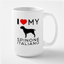 I love My Spinone Italiano Mug
