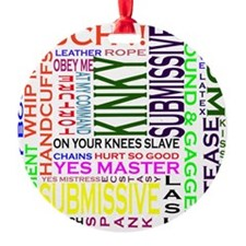 words Ornament