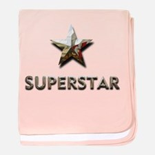 Superstar baby blanket