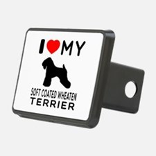 I love My Soft Coated Wheaten Terrier Hitch Cover