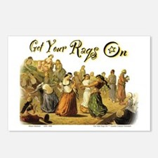 GetYourRaqsOn_tee Postcards (Package of 8)